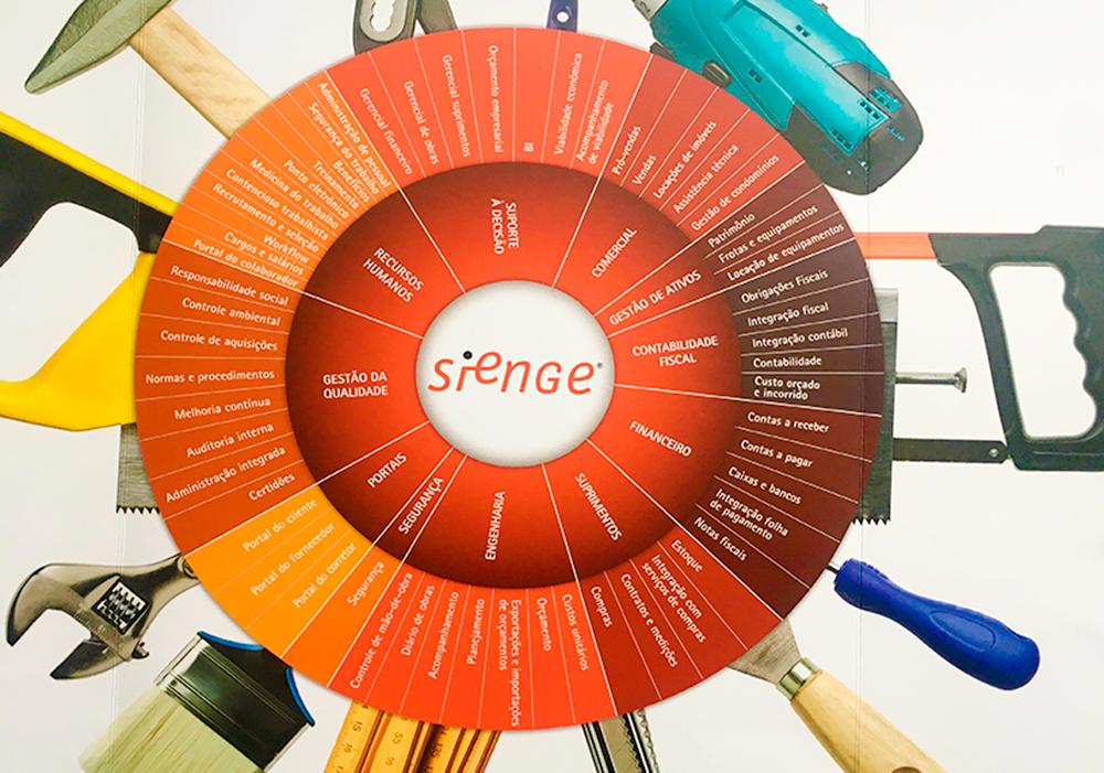 O Sienge Plataforma é um software de gestão para a indústria da construção civil que permite acompanhar e direcionar todas as etapas de um projeto