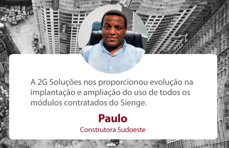 Paulo Sérgio Construtora Sudoeste