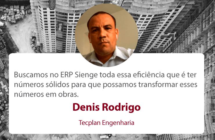 Denis Rodrigo - Tecplan Engenharia